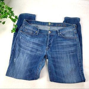 7 For All Mankind Skinny Boyfriend Josefina Jeans